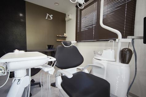 リラックスして受診していただくためにーエステティックルームイメージ画像。おがた歯科のエステティックルーム