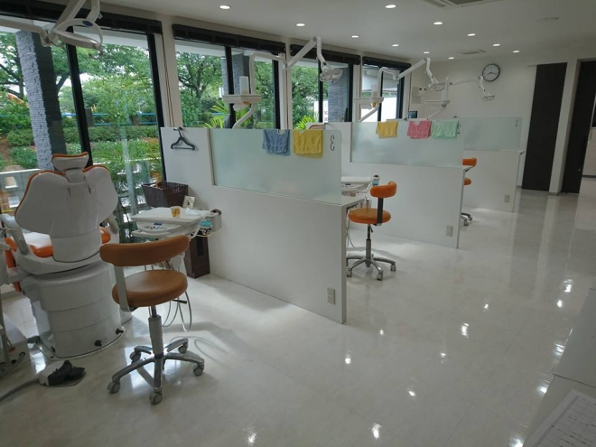 おがた歯科の診察室の写真