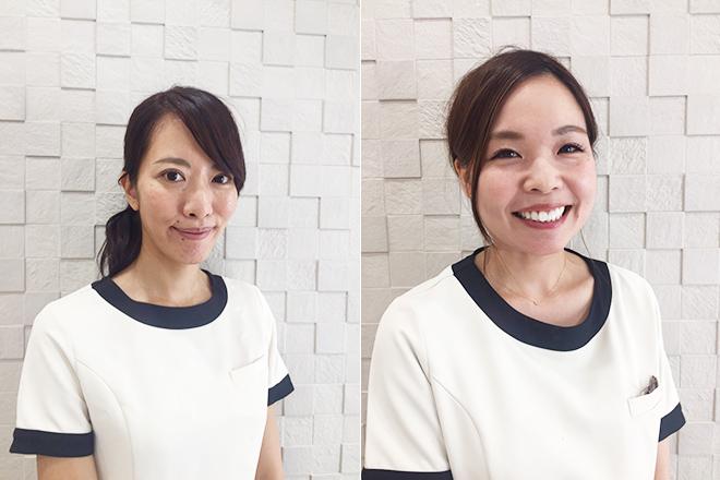 新スタッフの村崎と山本の写真