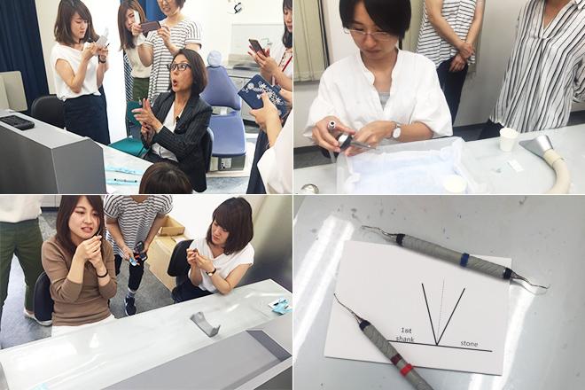 土屋和子先生のハンズオンセミナー参加風景